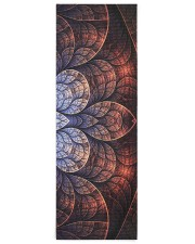 Floral Art Yoga Mat 24x70 (vertical) front