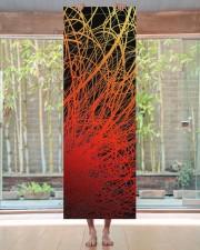 Linear Explosion Sunset Yoga Mat 24x70 (vertical) aos-yoga-mat-lifestyle-27