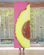 Avocado Illustration Yoga Mat 24x70 (vertical) aos-yoga-mat-lifestyle-27