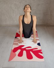 Personalized Pink Matisse Yoga Mat Yoga Mat 24x70 (vertical) aos-yoga-mat-lifestyle-17