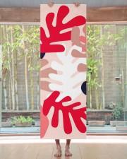 Personalized Pink Matisse Yoga Mat Yoga Mat 24x70 (vertical) aos-yoga-mat-lifestyle-27
