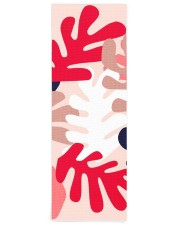 Personalized Pink Matisse Yoga Mat Yoga Mat 24x70 (vertical) front