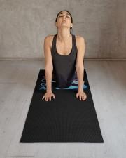 Yoga Just Breathe Yoga Mat 24x70 (vertical) aos-yoga-mat-lifestyle-17