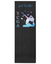 Yoga Just Breathe Yoga Mat 24x70 (vertical) front