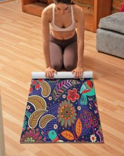 Inspired By Nature Yoga Mat 24x70 (vertical) aos-yoga-mat-lifestyle-21