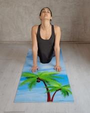 Blue Sky Palms Gym Fitness Modern Template Yoga Mat 24x70 (vertical) aos-yoga-mat-lifestyle-17