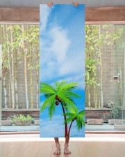Blue Sky Palms Gym Fitness Modern Template Yoga Mat 24x70 (vertical) aos-yoga-mat-lifestyle-27