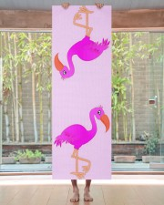 Cute Flamingo Happy Yoga Mat 24x70 (vertical) aos-yoga-mat-lifestyle-27