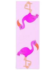 Cute Flamingo Happy Yoga Mat 24x70 (vertical) front