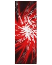 Dark Red Spiral Yoga Mat 24x70 (vertical) front