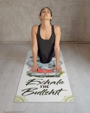 Elephant Yogi Yoga Mat 24x70 (vertical) aos-yoga-mat-lifestyle-17