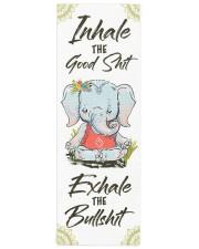 Elephant Yogi Yoga Mat 24x70 (vertical) front