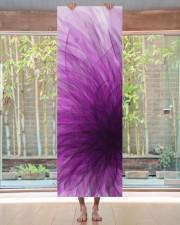 Lavender Spiral Yoga Mat Yoga Mat 24x70 (vertical) aos-yoga-mat-lifestyle-27