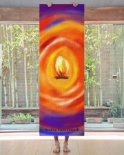 Colorful creative boho soul flame yoga mat Yoga Mat 24x70 (vertical) aos-yoga-mat-lifestyle-27