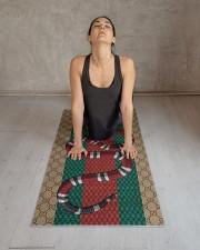 Snake Yoga Mat 24x70 (vertical) aos-yoga-mat-lifestyle-17