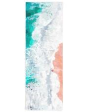 Beach Illustration Yoga Mat Yoga Mat 24x70 (vertical) front