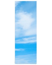 Blue Sky Clouds Creative Design Fitness Template Yoga Mat 24x70 (vertical) front