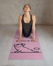 Yoga Frenchie Yoga Mat 24x70 (vertical) aos-yoga-mat-lifestyle-17