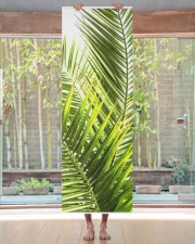 Green Tropical Palm Leaves Illustration Yoga Mat Yoga Mat 24x70 (vertical) aos-yoga-mat-lifestyle-27