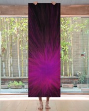 Purple Feathers Yoga Mat Yoga Mat 24x70 (vertical) aos-yoga-mat-lifestyle-27