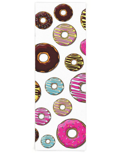 Donut Pattern Colorful Donuts Pink Blue Yellow