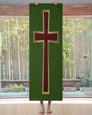 Christian cross Yoga Mat 24x70 (vertical) aos-yoga-mat-lifestyle-27