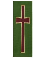 Christian cross Yoga Mat 24x70 (vertical) front