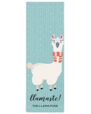 Llamaste funny Green Llama Illustration Yoga Mat 24x70 (vertical) front