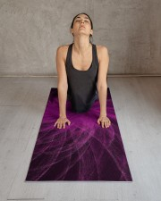 Lavender Spiral3 Yoga Mat Yoga Mat 24x70 (vertical) aos-yoga-mat-lifestyle-17