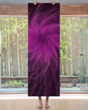 Lavender Spiral3 Yoga Mat Yoga Mat 24x70 (vertical) aos-yoga-mat-lifestyle-27
