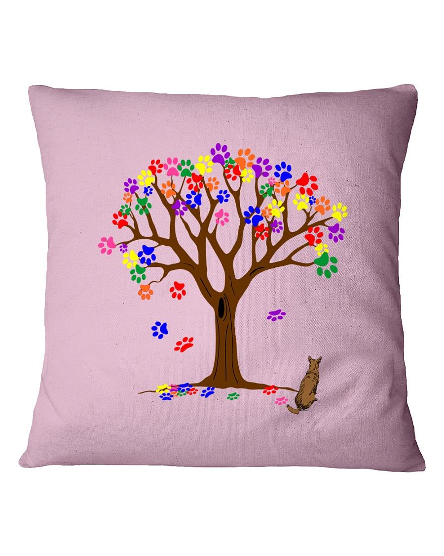 Tree of paws Square Pillowcase