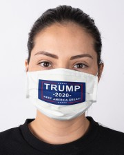 Trump 2020 keep  America great face mask Cloth face mask aos-face-mask-lifestyle-01