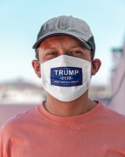 Trump 2020 keep  America great face mask Cloth face mask aos-face-mask-lifestyle-06