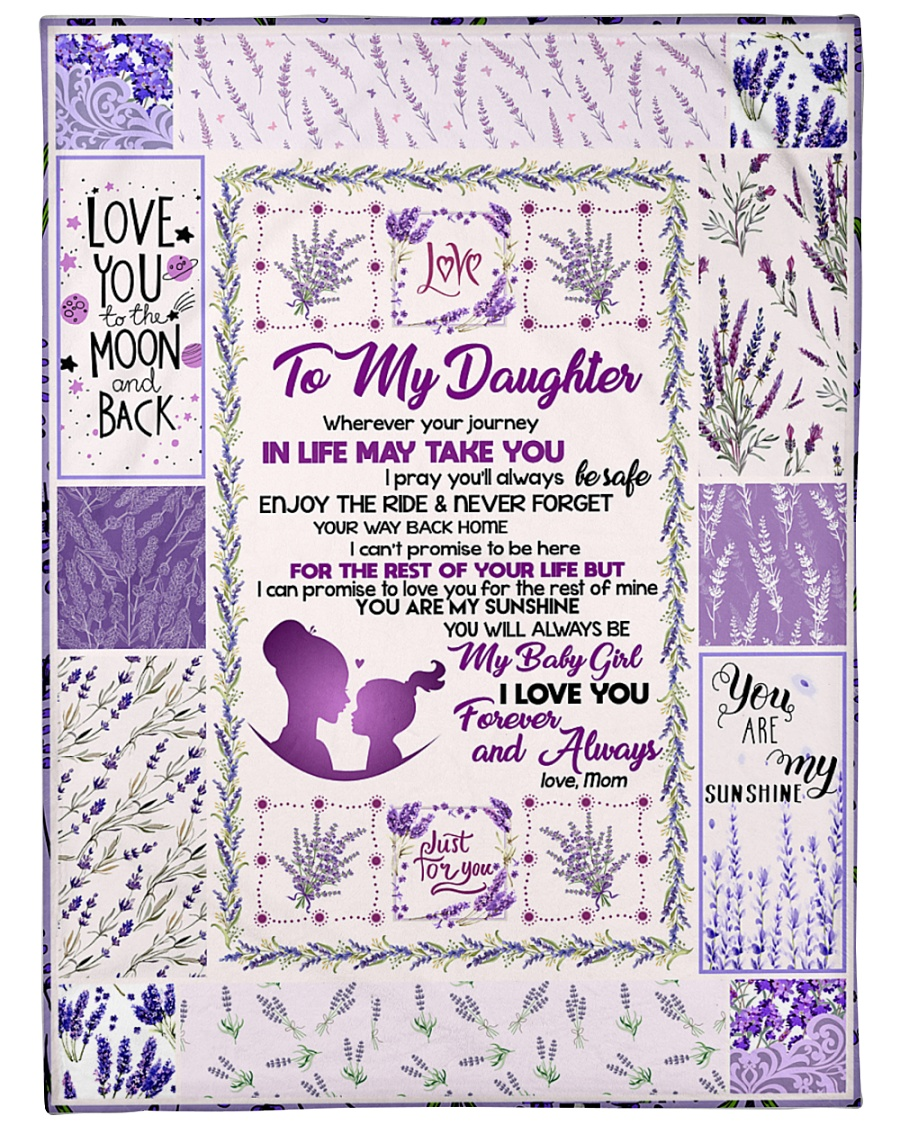 "Blanket Love You To The Moon And Back Fleece  Large Fleece Blanket - 60"" x 80"""