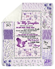 "Blanket Love You To The Moon And Back Fleece  Sherpa Fleece Blanket - 50"" x 60"" thumbnail"