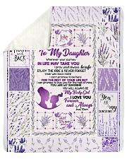 """Blanket Love You To The Moon And Back Fleece Sherpa Fleece Blanket - 50"""" x 60"""" thumbnail"""