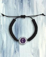 Lafaie Cosmetique Cord Circle Bracelet aos-bracelet-cord-front-lifestyle-6
