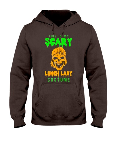 Is My Scary Lunch Lady Costume Halloween TShir