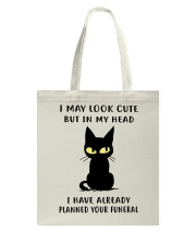 Cute Cat Tote Bag tile