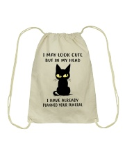 Cute Cat Drawstring Bag thumbnail