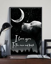 Pitbull Love You Poster 11x17 Poster lifestyle-poster-2