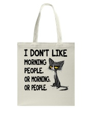 Morning-Cat Tote Bag thumbnail