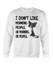 Morning-Cat Crewneck Sweatshirt thumbnail