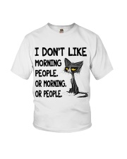 Morning-Cat Youth T-Shirt thumbnail