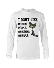 Morning-Cat Long Sleeve Tee thumbnail