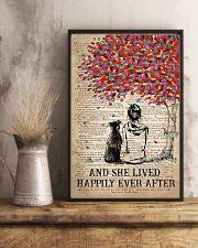 Pitbull She Lived Happily Poster 11x17 Poster lifestyle-poster-3