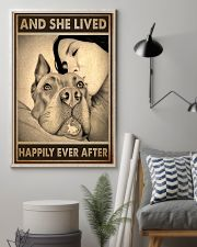 Poster Pitbull And Mom 11x17 Poster lifestyle-poster-1