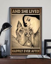 Poster Pitbull And Mom 11x17 Poster lifestyle-poster-2