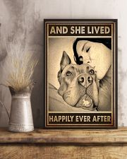 Poster Pitbull And Mom 11x17 Poster lifestyle-poster-3