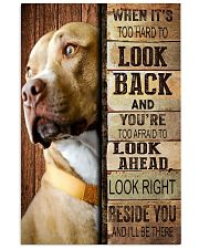 Pitbull Beside You 11x17 Poster front